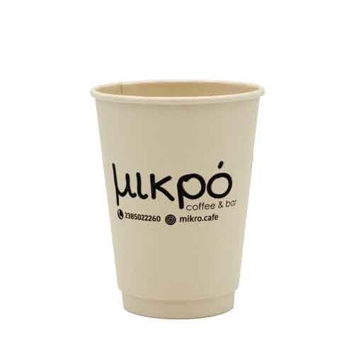 Ποτήρι Bamboo 12oz Mikro Cafe